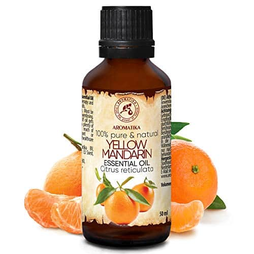 Huile Essentielle Mandarine 50ml - Citrus Reticulata - Italy - Huile de Mandarine 100% Pure et Naturelle