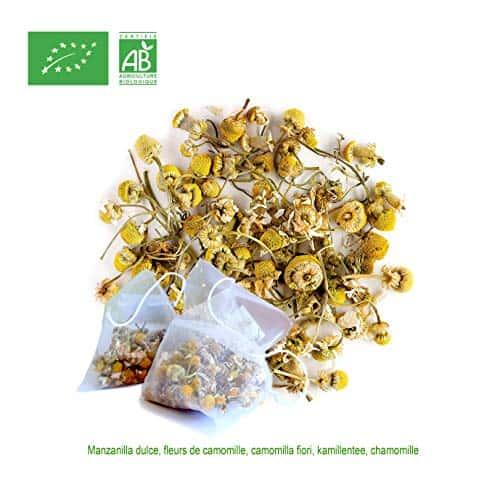 FRISAFRAN - Fleurs de Camomille BIO (30 Sachets Pyramide)