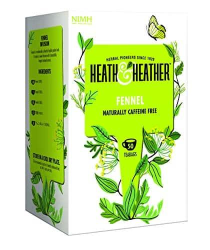 Boisson et plante pour dormir Heath & tisane au fenouil Heather Herbal 50 sachets