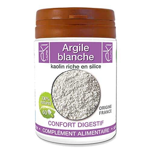argile blanche gelule remede insomnie microbiote
